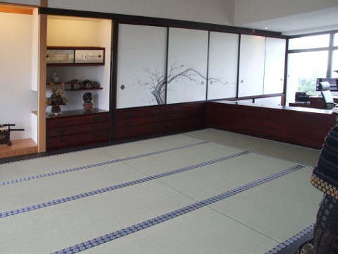 japanische tatami kologischer bodenbelag aus naturbinsen. Black Bedroom Furniture Sets. Home Design Ideas