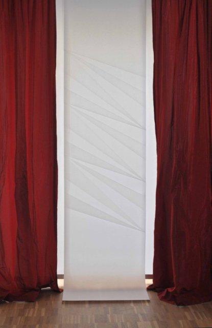 Fenstergestaltung der 3. Dimension mit Origami-Faltvorhängen von Takumi