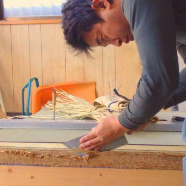 Japanische Tatami handgemacht
